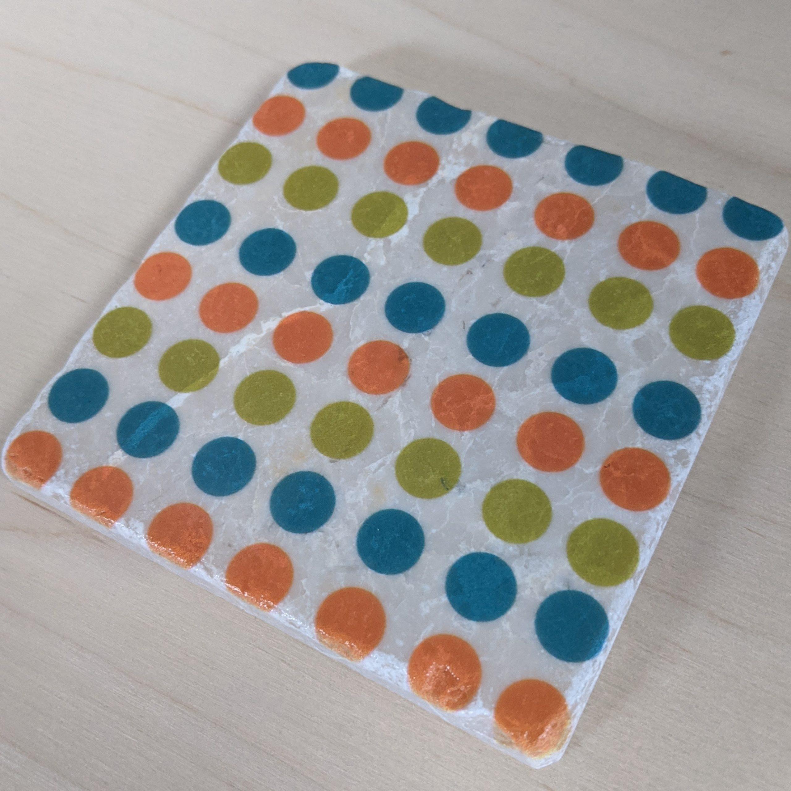 MCM-Marble Art Coasters Circles-02A-2