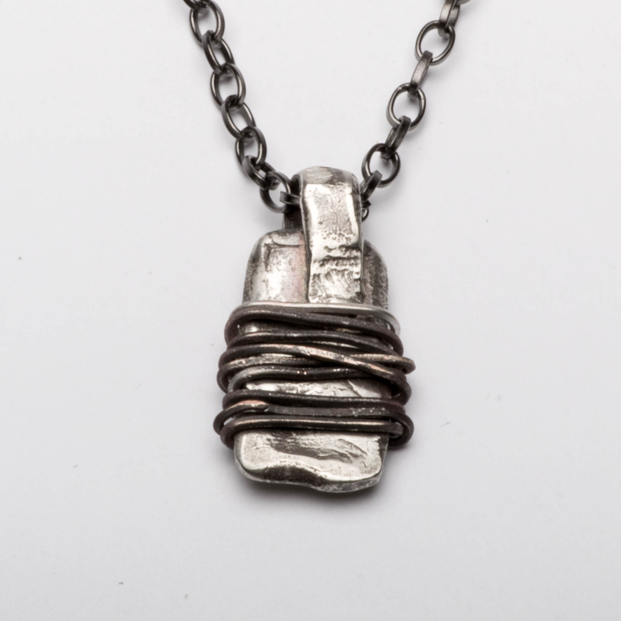 Amulet Warding Off Sterling Silver Pendant Necklace Jewelry