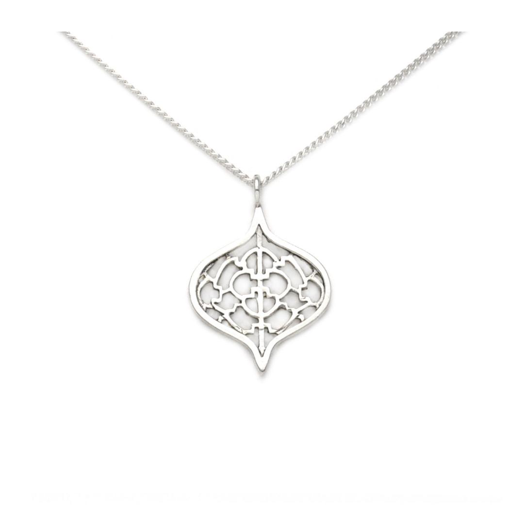 Sterling Silver Saxon Pendant