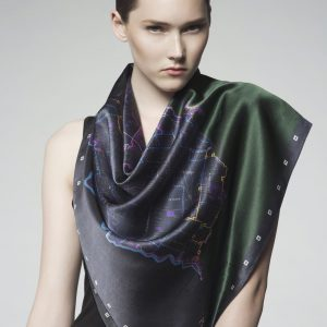T.O Map Scarf