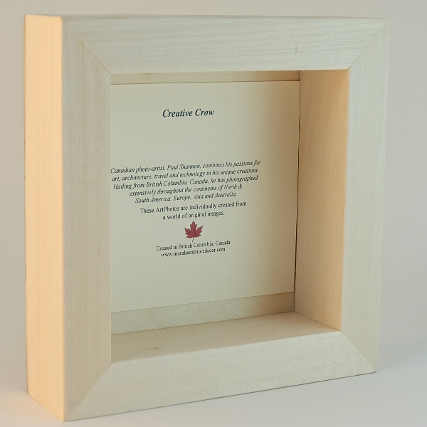 Wood Block - Back with Story Card