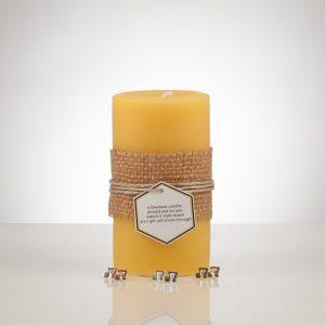 YYC Beeswax Treasure Candle