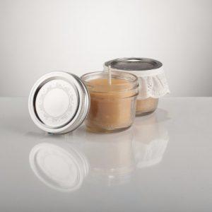 YYC Beeswax Natural Beeswax Mason Jar Candle