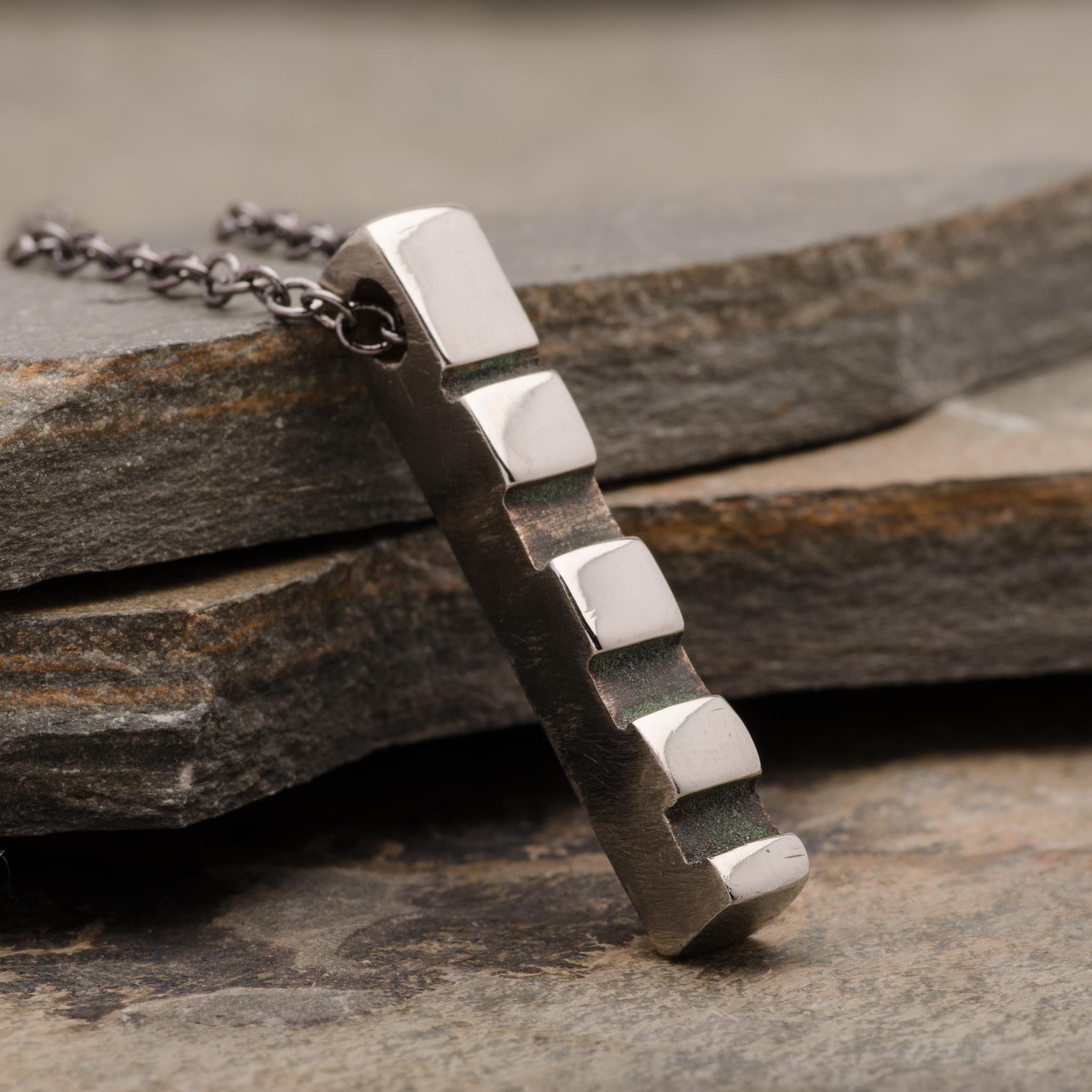 Totem Dream Pendant Necklace Mens Bronze Jewelry