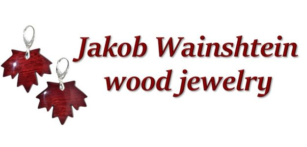 Jakob Wainshtein Wood Sculpture and Jewelry