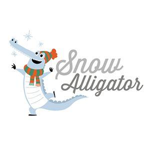 Snow Alligator