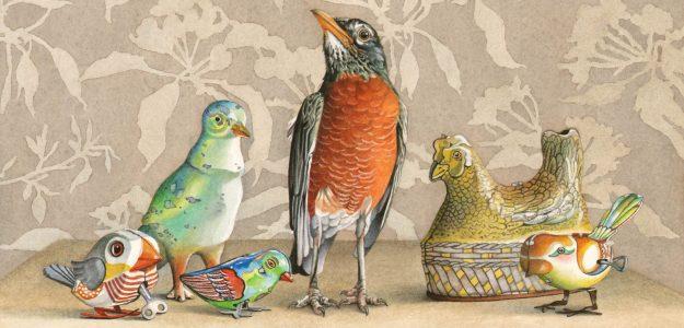 Cori Lee Marvin - Watercolours