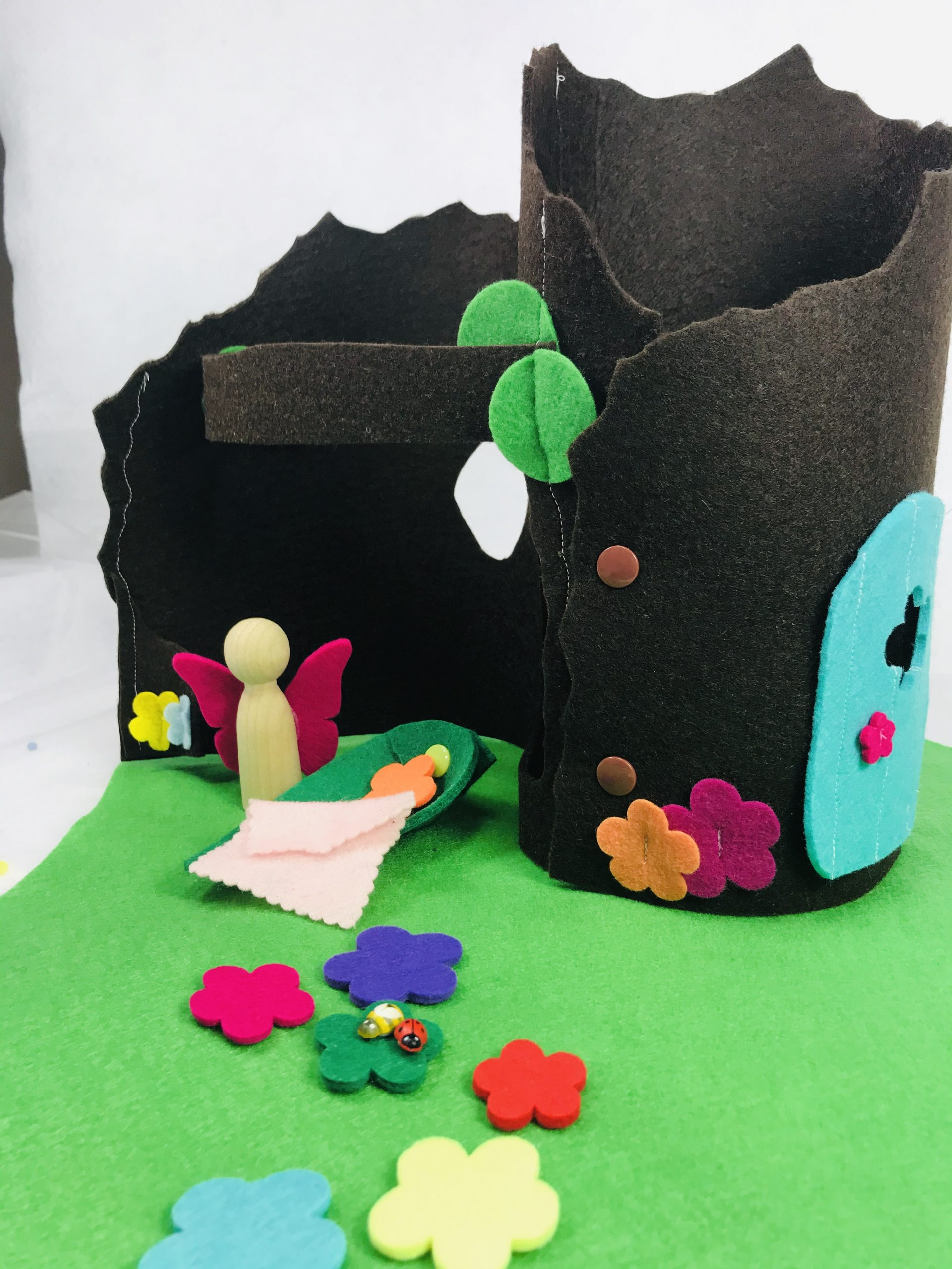 fairy garden small world play