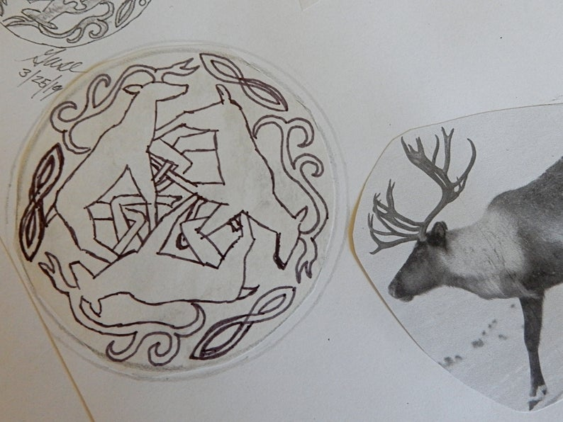 Original Design for Reindeer Circle
