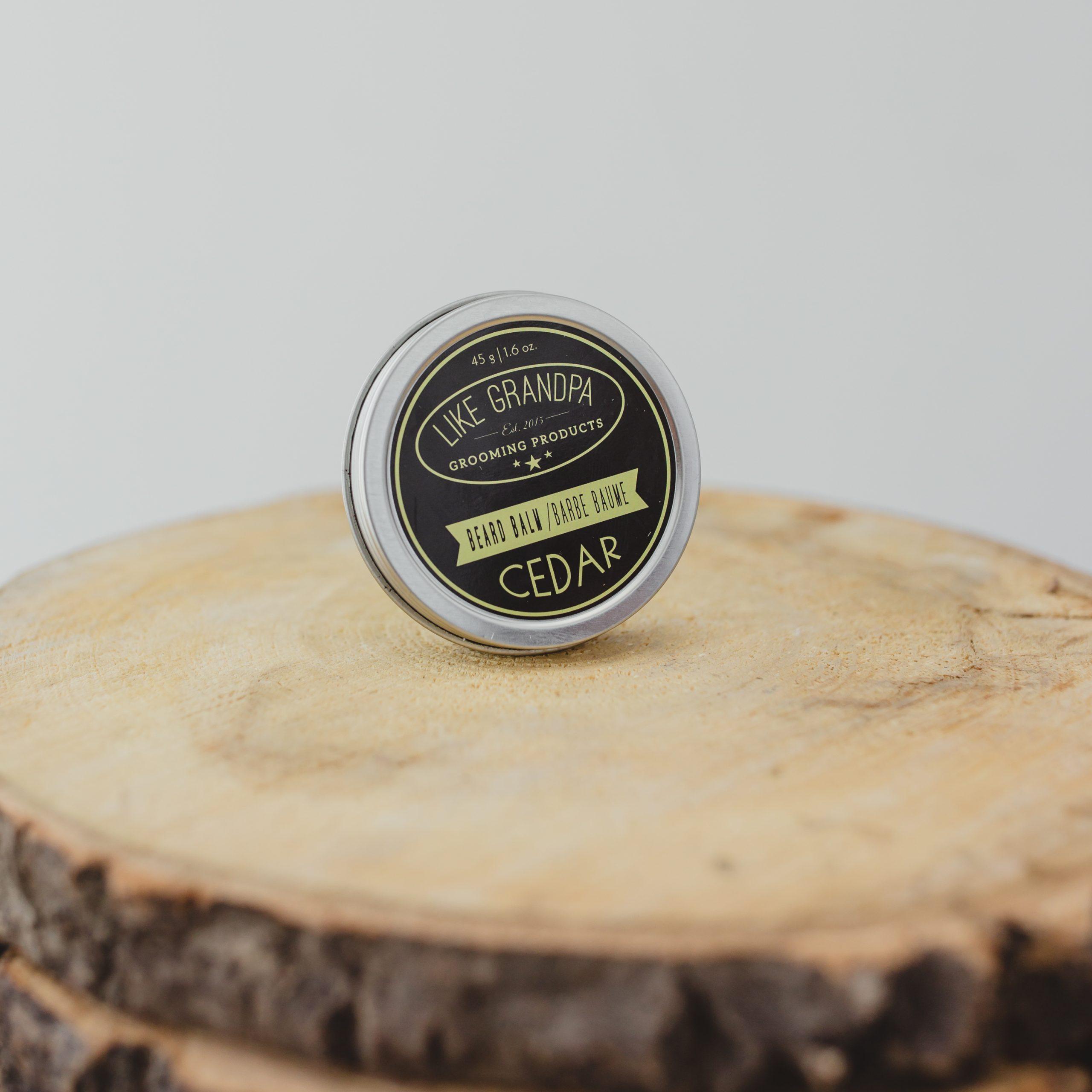 Cedar Beard Balm
