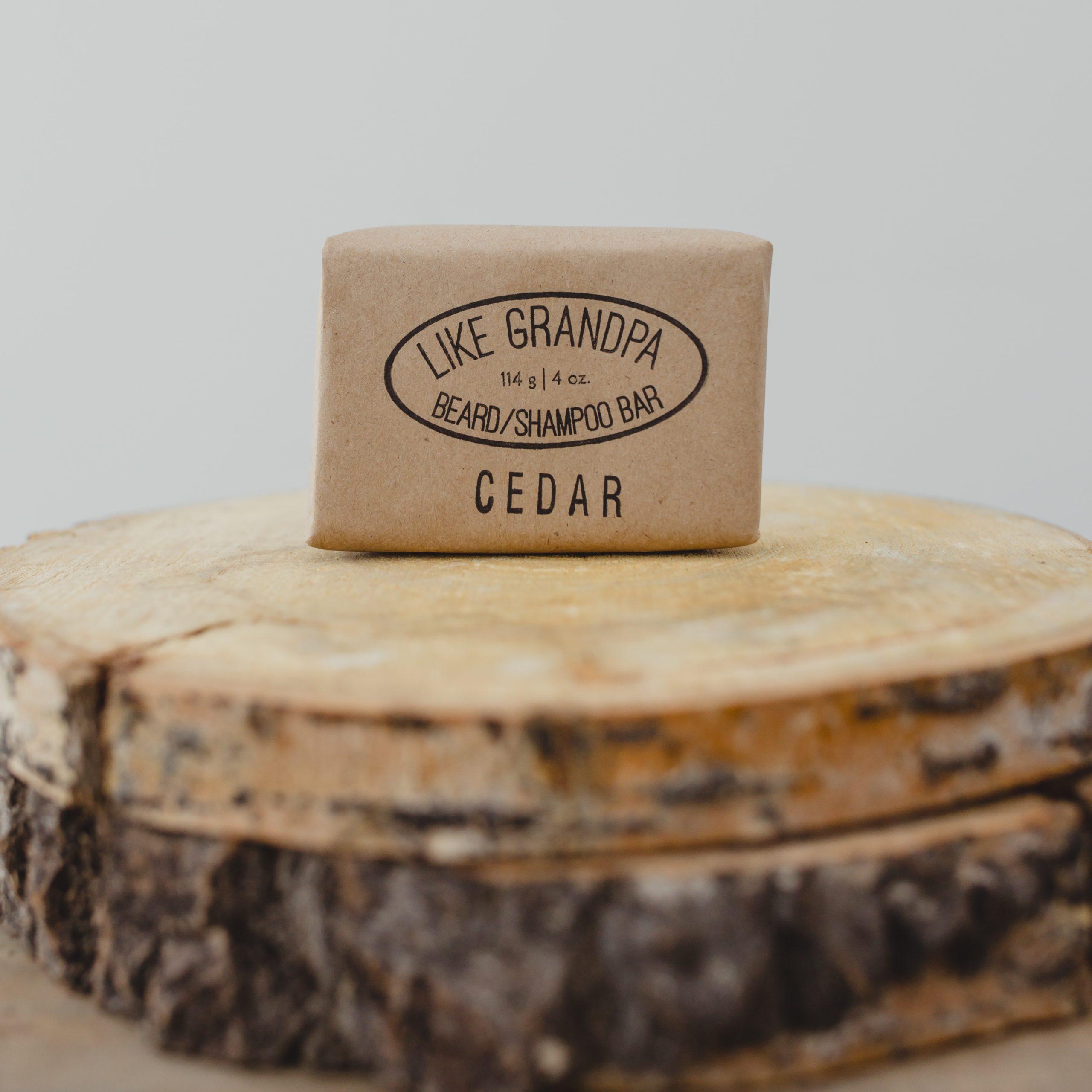 Cedar Shampoo Bar