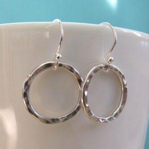 karma earrings sailorgirl jewelry