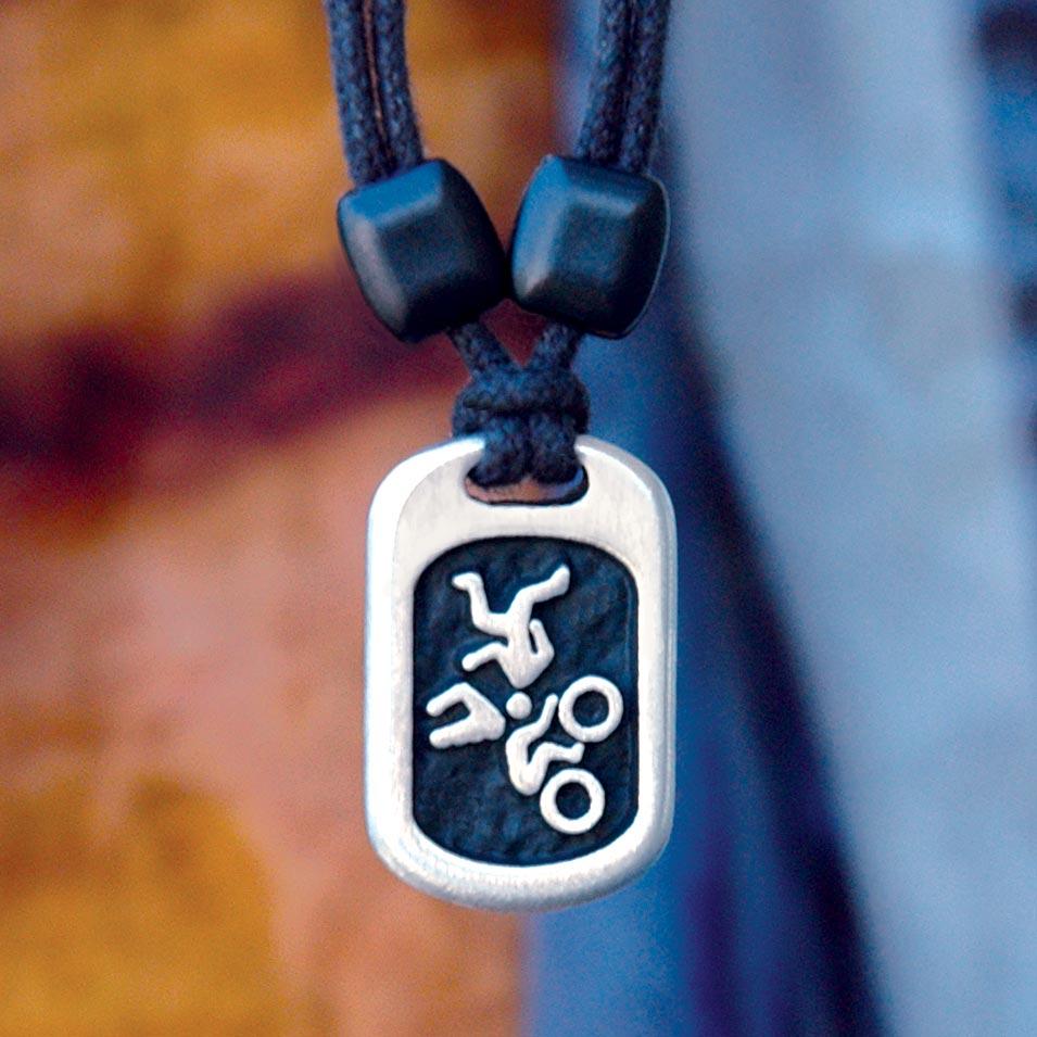 triathlete pendant