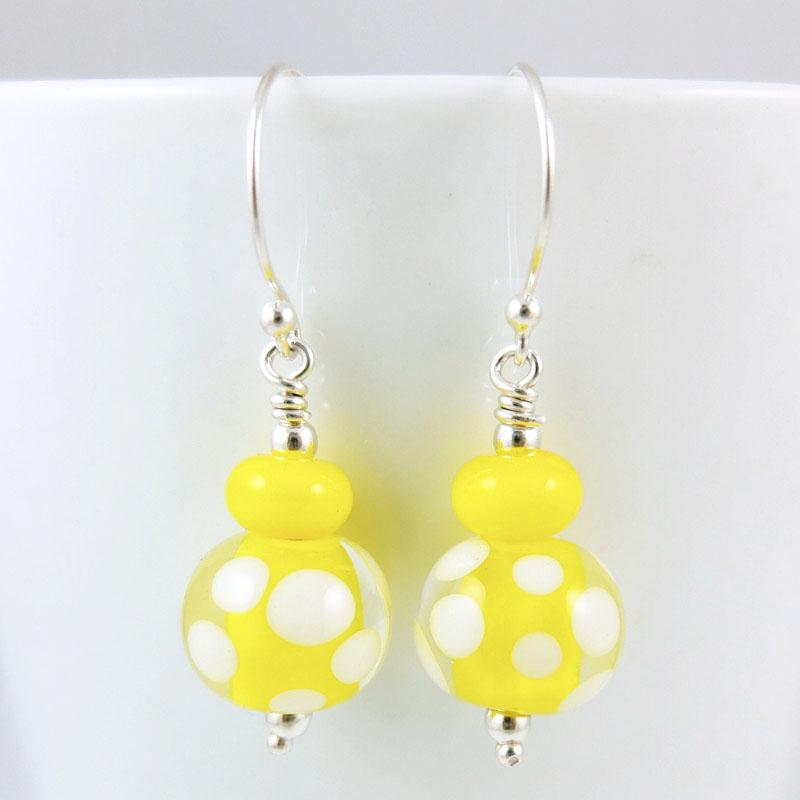 zesty lemon earrings sailorgirl jewelry