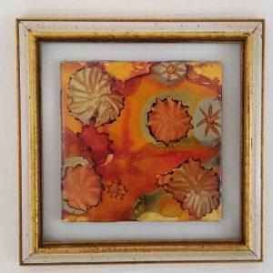 """Blossoms in Orange"" Original Paintings"