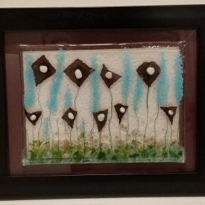"""Seize the Breeze"" Original Glass Painting"