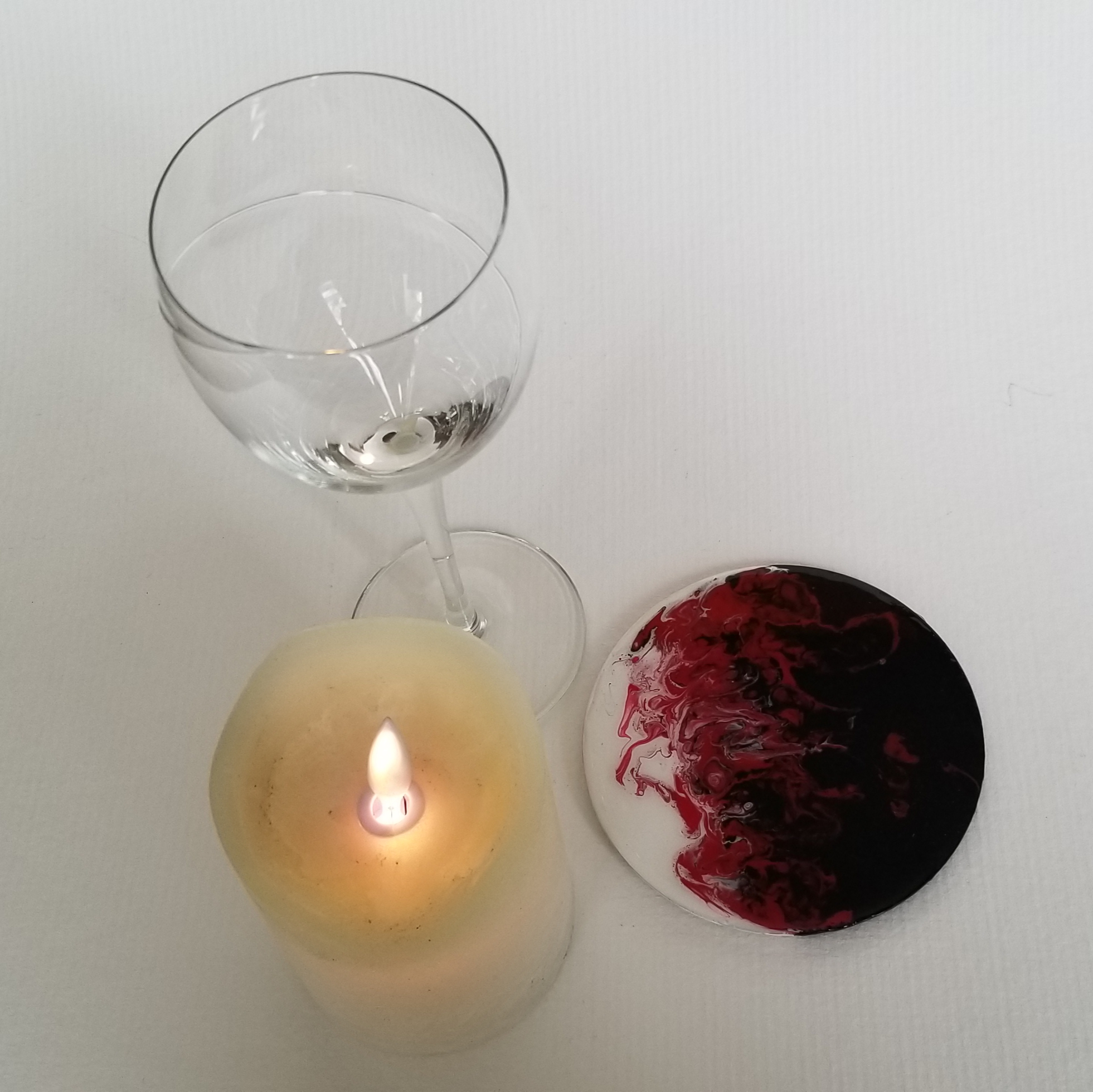Coaster for Candle or Glass