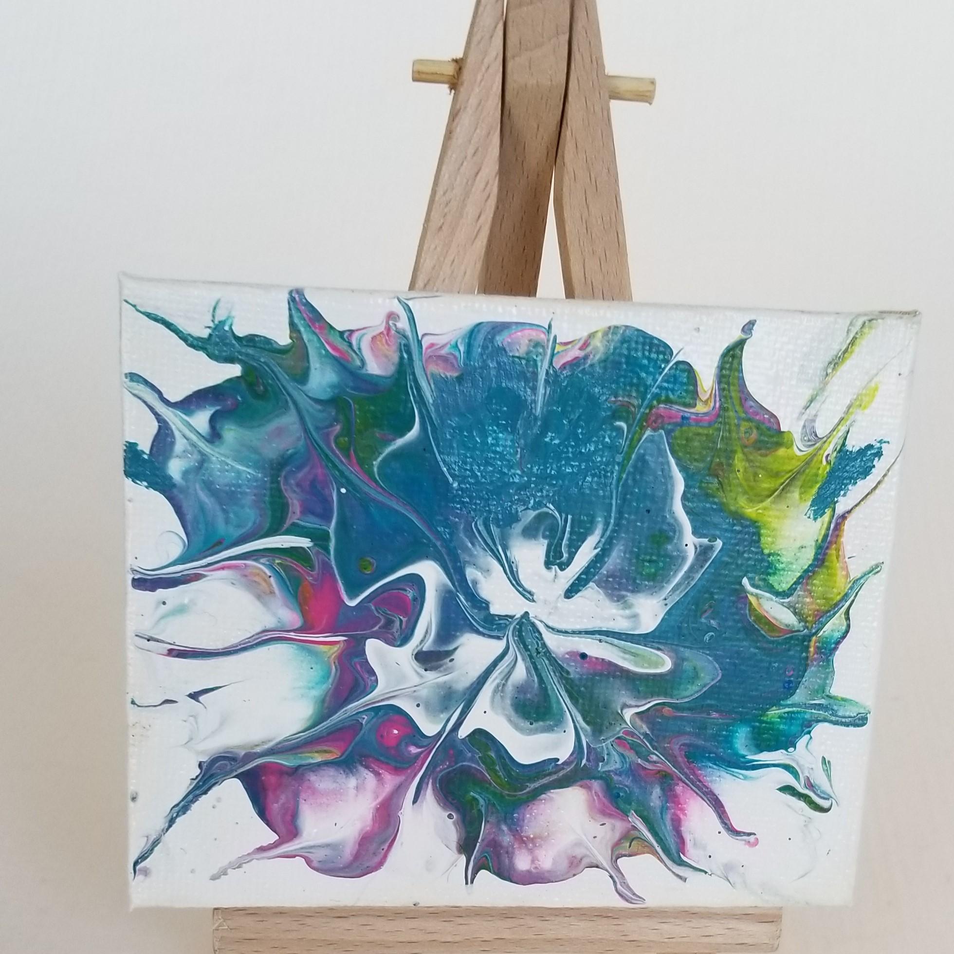 Mini Acrylic Painting