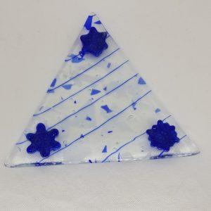 Triangular Snowflake Plate