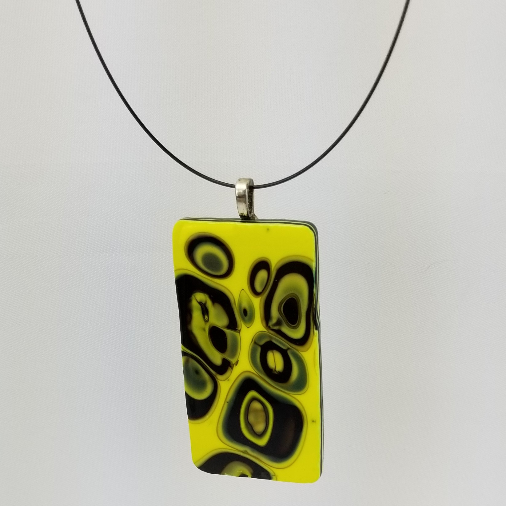 """""""Boiled"""" Glass Necklace"""