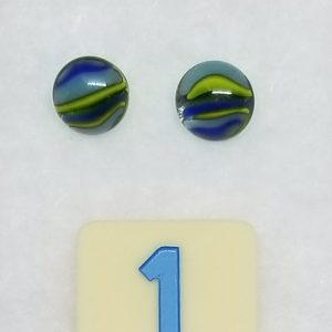 Striped Glass Earrings