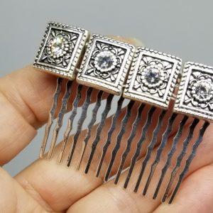 Jeweled Hair Combs
