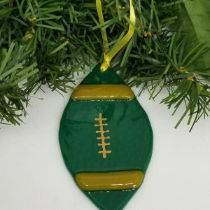 Edmonton Eskimos Football Ornament