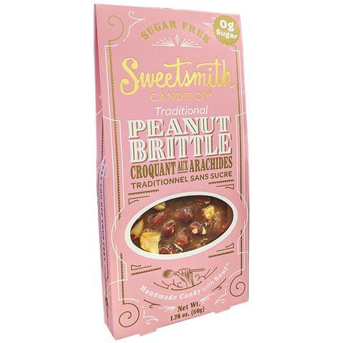 Sugar Free Peanut Brittle