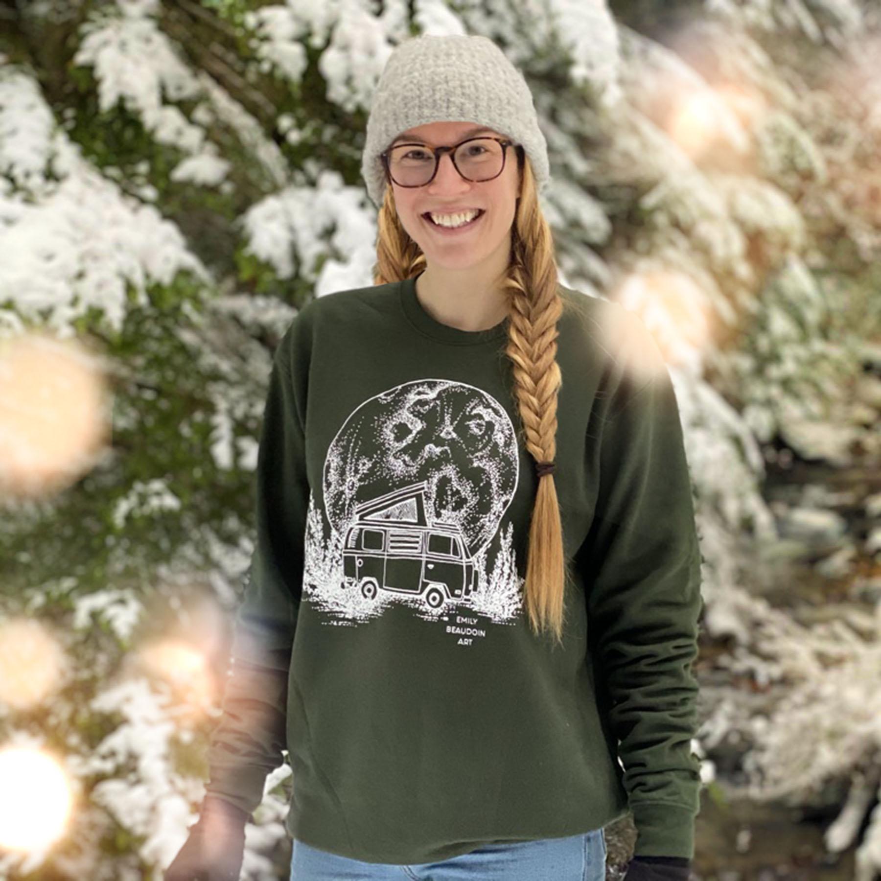 Moon Van Crewneck Sweater