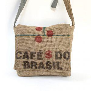Coffee Bean Sack Messenger Bag