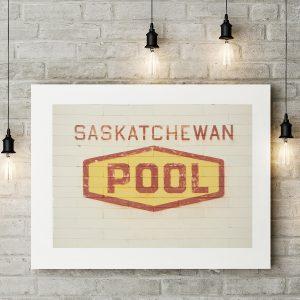 Saskatchewan Wheat Pool Sign
