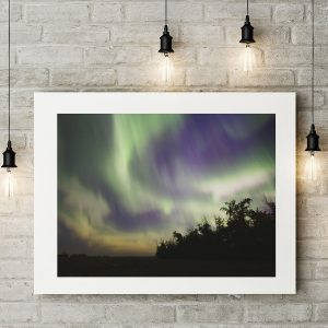 Splash of Aurora Borealis