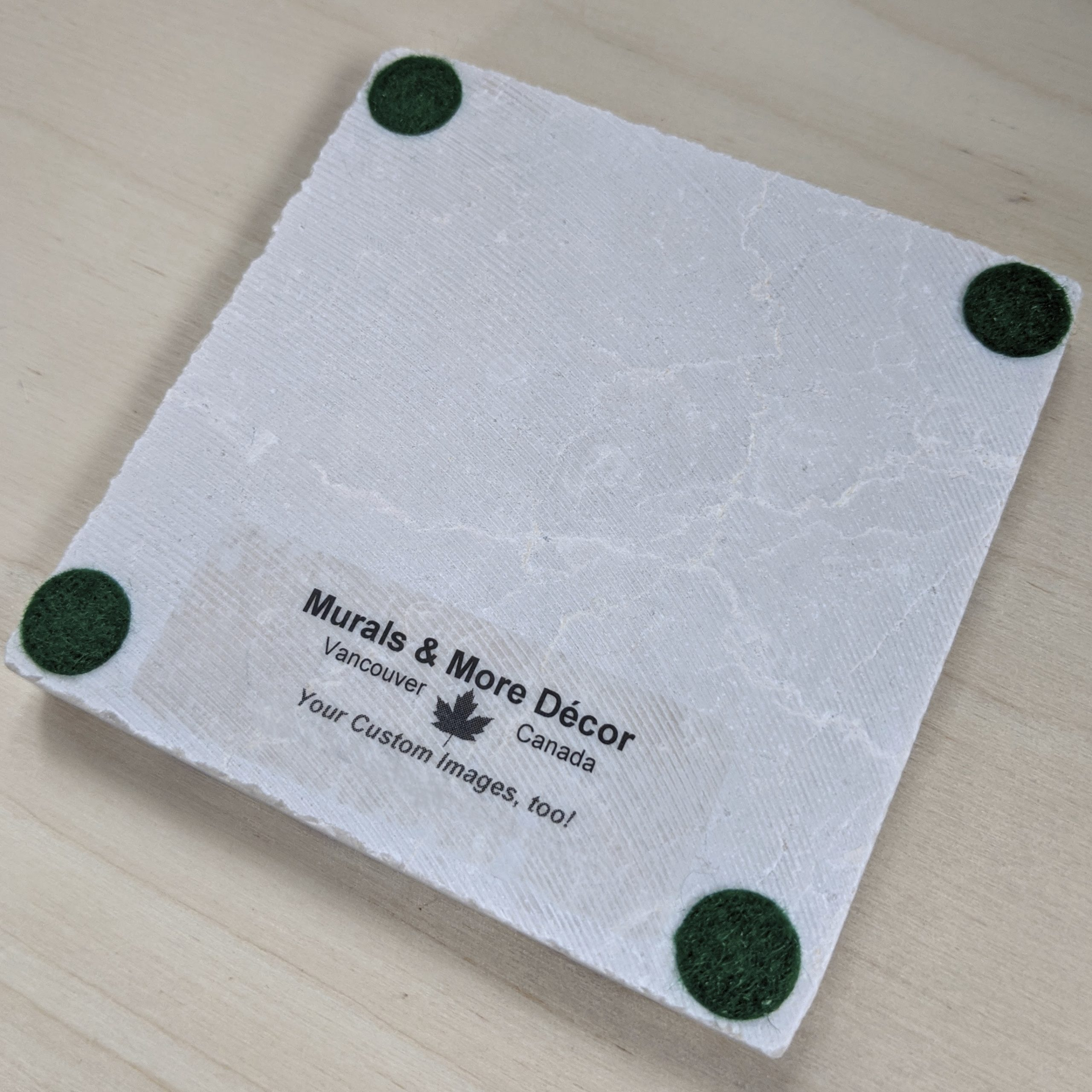 Marble Coaster by Murals and More Decor