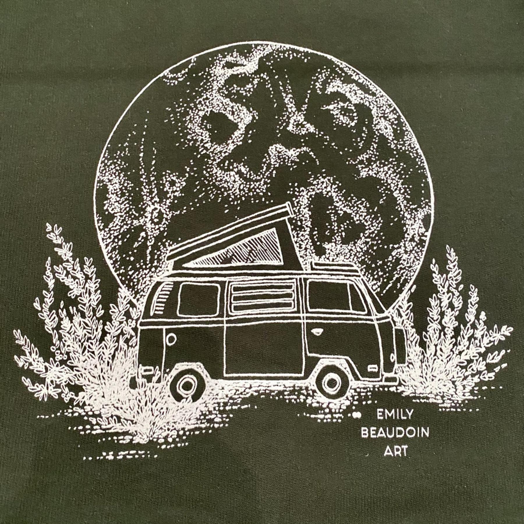 Moon Van Sweater Design