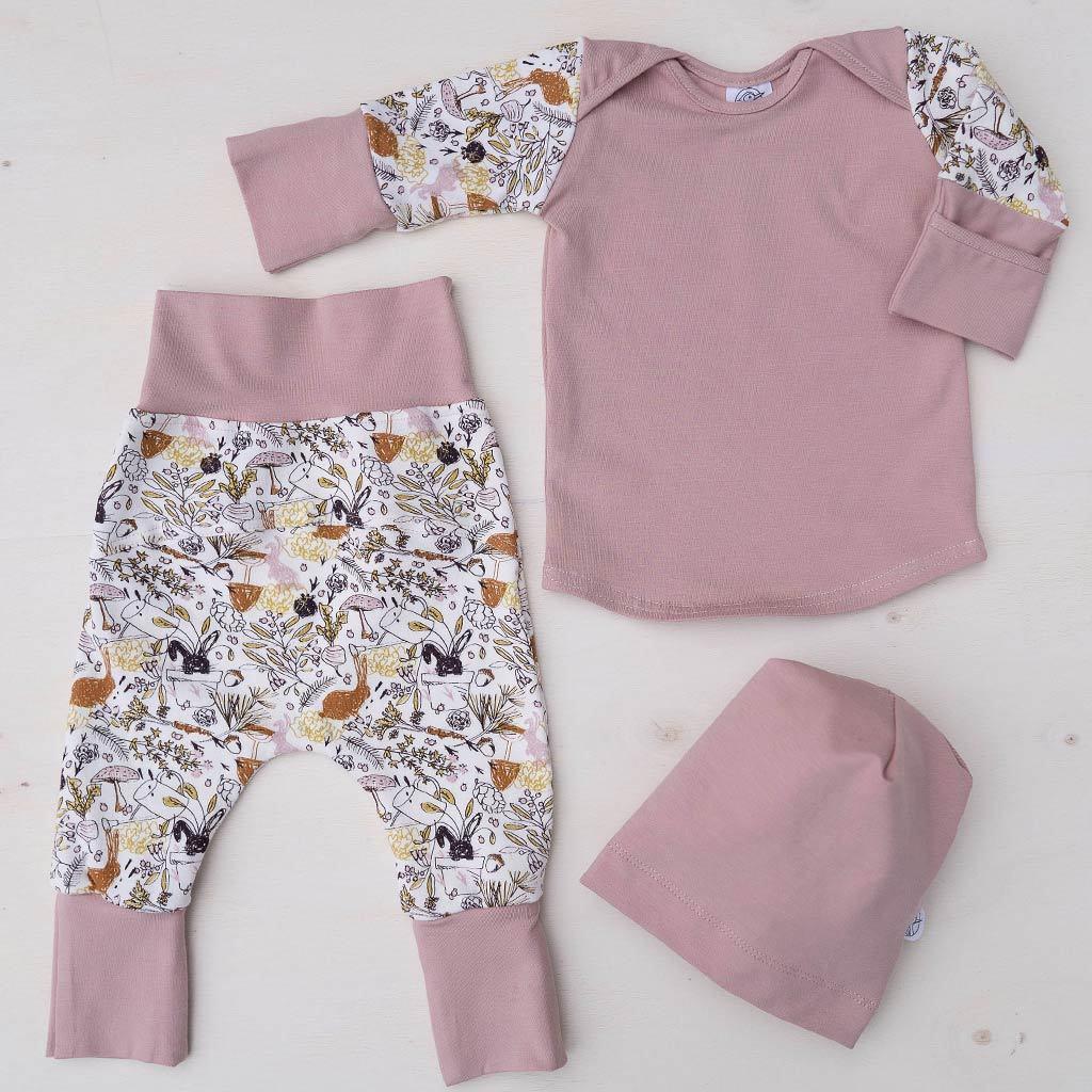 Pajama grow with me PINK VICTORIN