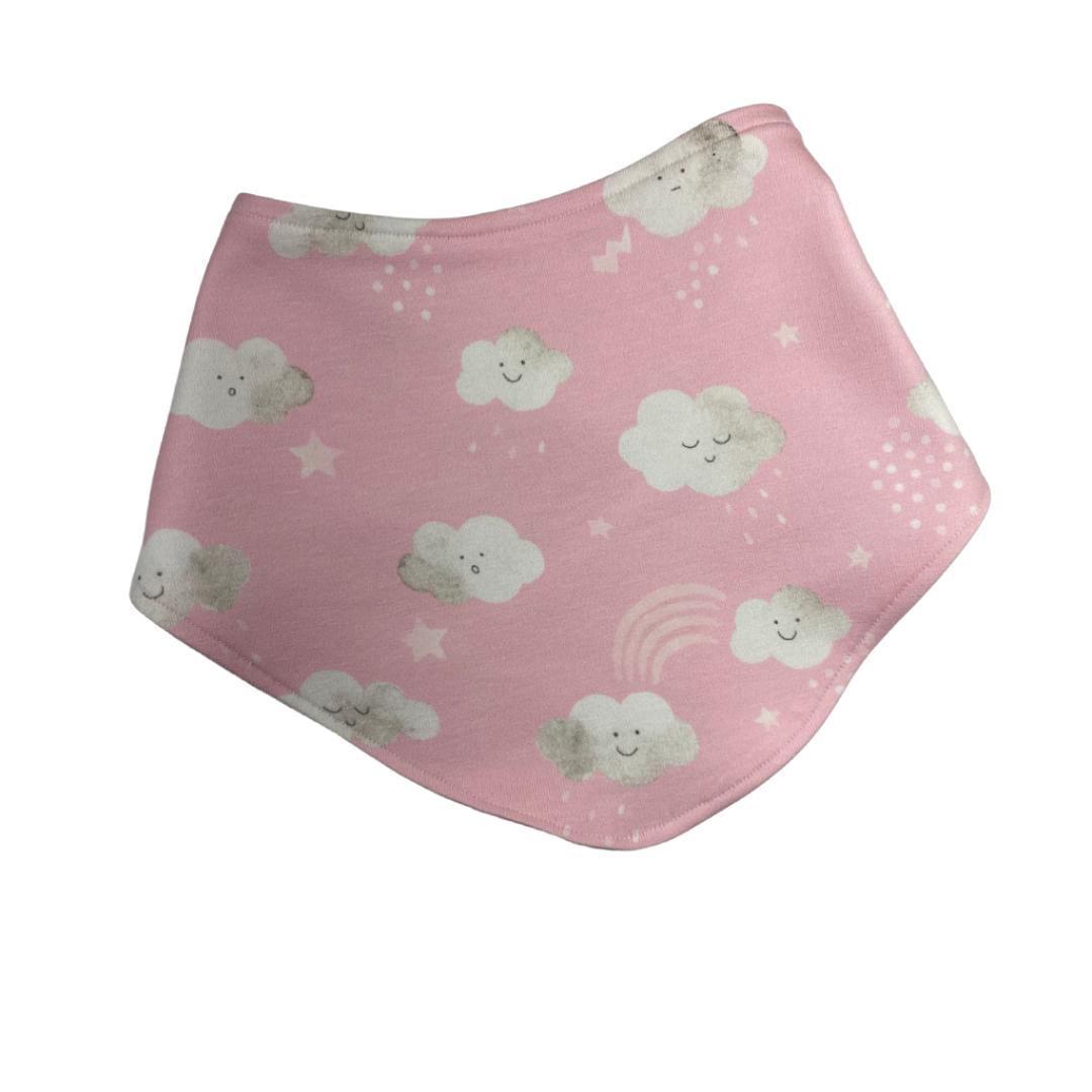 pink clouds bandana