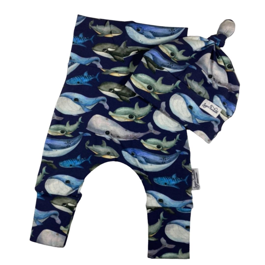 blue whale harem set