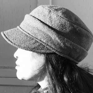 Cap   Boiled wool   Hats   Made in canada   Genevieve Dostaler