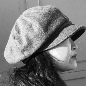 Newsboy cap   Boiled wool   Hats   Made in canada   Genevieve Dostaler