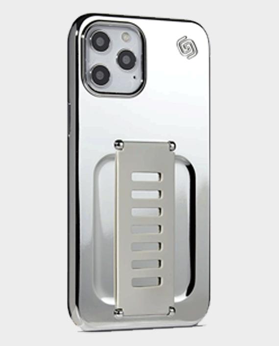 Grip2u iphone 12 pro max slim case tinsel silver