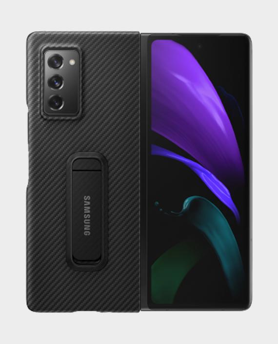 Samsung galaxy z fold 2 aramid standing cover black 1