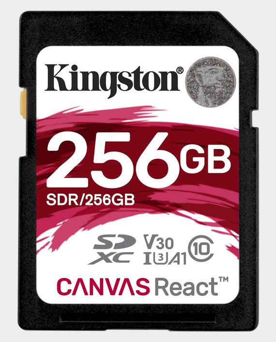 Kingston 256gb sd canvas react 4k