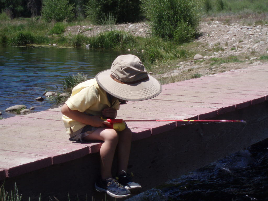 Kids Fishing at Keystone Resort