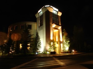 Keystone Conference CEnter at Night