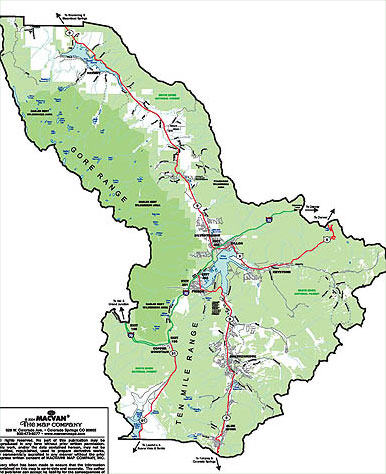 Summit County Map