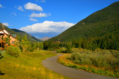 Bike Path near Red Hawk Lodge