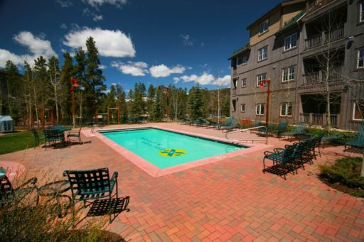 Swimming Pool at Expedition Station in Keystone Colorado