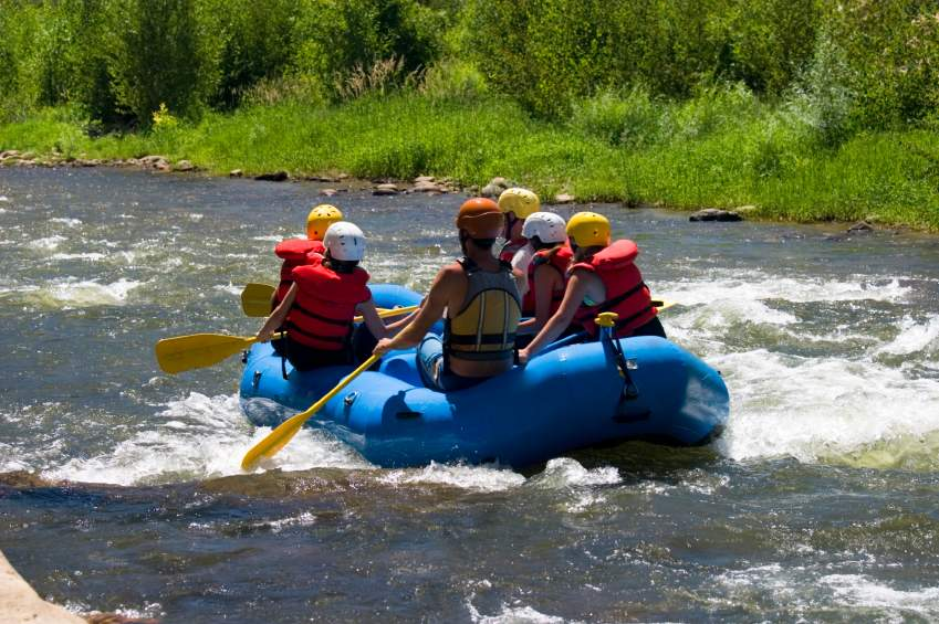 White Water Rafting Colorado