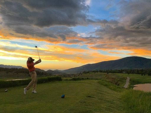 Keystone Ranch Sunset Golfing