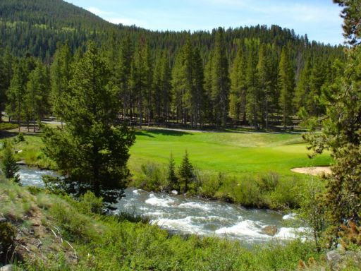 Colorado Mountain Golf course in Keystone